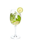 Kaltes alkoholisches Cocktail Stockfoto