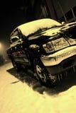Kaltes Auto Stockfoto