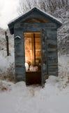 Kaltes Badezimmer stockfotografie