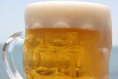 Kaltes Bier Stockfoto