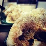 Kaltes Getränk lokales Nachtisch Eis Kacang Stockfotografie
