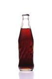Kaltes Glas der Colaflasche Lizenzfreie Stockfotografie