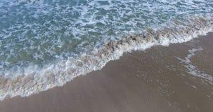 Kaltes Muster des Schwarzen Meers bewegt in Bulgarien wellenartig stock footage