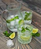 Kaltes neues Limonadengetränk Lizenzfreie Stockfotos