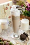 Kaltes süßes Milchshake Lizenzfreie Stockfotos