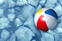 Kaltes Sommer-Wetter Lizenzfreie Stockfotos