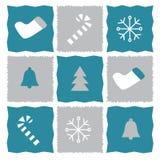 Kaltes Weihnachten Stockbild