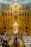 Kaluga, Ρωσία - 29 Ιανουαρίου 2017 Ο ιερός καθεδρικός ναός τριάδας Kaluga εκκλησιών Στοκ φωτογραφίες με δικαίωμα ελεύθερης χρήσης