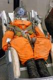 Kaluga, Россия, 17-ое сентября 2017: Русский костюм пилота астронавта в музее космоса Kaluga Стоковые Фотографии RF