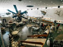 Kaluga, Россия - около август 2018: Музей положения истории космонавтики K e Tsiolkovsky в Kaluga стоковое изображение rf