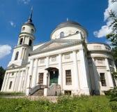 Kaluga, Dreiheits-Kathedrale Lizenzfreies Stockbild