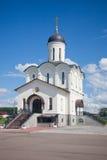 Kaluga sacré et Uspenskaya Tikhon Pustin Monastère de Vladimirsky Image libre de droits