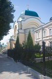 Kaluga Sacred and Uspenskaya Tikhon Pustin. Royalty Free Stock Photography
