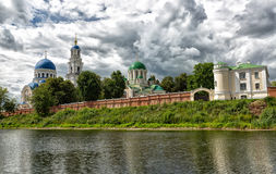 Kaluga, Sacredly Uspensky Tikhonova pustin. Stock Photos