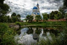 Kaluga, Sacredly Uspensky Tikhonova pustin. Stock Photos