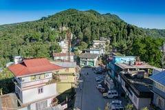 Kaluk - μια μικρή πόλη στο Sikkim, Ινδία Στοκ Φωτογραφία