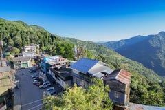 Kaluk - μια μικρή πόλη στο Sikkim, Ινδία Στοκ εικόνα με δικαίωμα ελεύθερης χρήσης