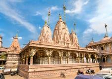 Kalupur Swaminarayan Mandir, hinduska świątynia w starym mieście Ahmedabad, Gujarat -, India Fotografia Stock