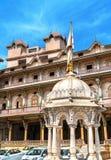 Kalupur Swaminarayan Mandir, hinduska świątynia w starym mieście Ahmedabad, Gujarat -, India Obrazy Royalty Free