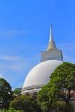 Kalutara Bodhi Temple, Kalutara, Sri Lanka. Kalutara Bodhi Dageba. View from Kalutara Bridger. May 9th 2017 Royalty Free Stock Photography