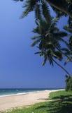 Kalutara strand Sri Lanka arkivfoton