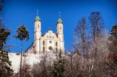 Kalvarienberg church Stock Photo