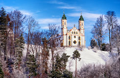 Kalvarienberg church Royalty Free Stock Photo