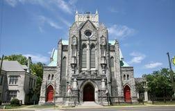 Kalvarienberg Episcopa-Kirche, Memphis TN Lizenzfreies Stockfoto