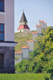 Kalvarienberg-Hügel Lizenzfreie Stockbilder