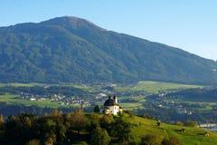 Kalvarienberg, Innsbruck in atmospheric evening sun Stock Photo