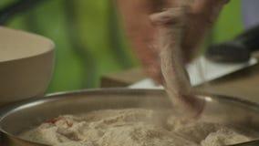 Kalvköttkotlett lager videofilmer