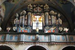Kalwaria-Organ lizenzfreies stockfoto
