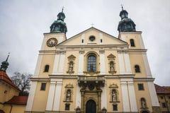 Kalwaria Zebrzydowska - Poland. Courtyard of Sanctuary in Kalwaria Zebrzydowska - Poland Stock Photo