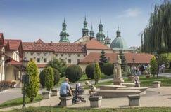 Kalwaria Zebrzydowska, Polska, nia 2018› 02 wrzeÅ: Монастырь k стоковое изображение rf