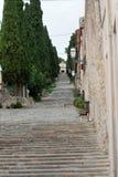 Kalwaryjscy kroki przy Pollensa, Zdjęcie Royalty Free