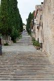 Kalwaryjscy kroki przy Pollensa, Mallorca Zdjęcia Stock