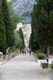 Kalwaryjscy kroki przy Pollensa, Mallorca Obraz Stock