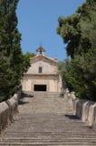 Kalwaryjska kaplica od kroków Obrazy Royalty Free