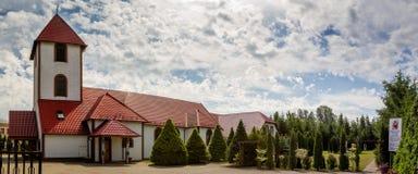 Kalwaryjska parafia St Faustina obraz royalty free
