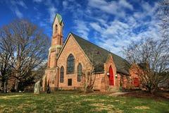 Kalwaryjski kościół episkopalny Fletcher Pólnocna Karolina II zdjęcie royalty free