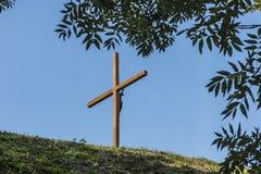 Kalwaryjski wokoło bazyliki Błogosławiony maryja dziewica w Chełmskim zdjęcie royalty free