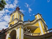 Kalwaryjski wzgórze kościół Fotografia Royalty Free