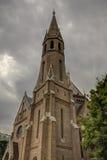 Kalwiński kościół Obrazy Royalty Free