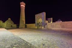 The Kalyan minaret at night, Bukhara, Uzbekistan. Stock Photo