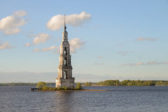 Kalyazin, Russian city Stock Images