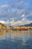 Kalymnos harbour stock photos