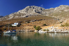 Kalymnos island coastline Stock Photography