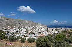 Kalymnos island in Greece Royalty Free Stock Images