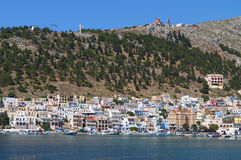 Kalymnos island in Greece Royalty Free Stock Photo