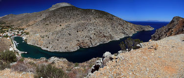 Kalymnos island, Greece panorama Stock Images